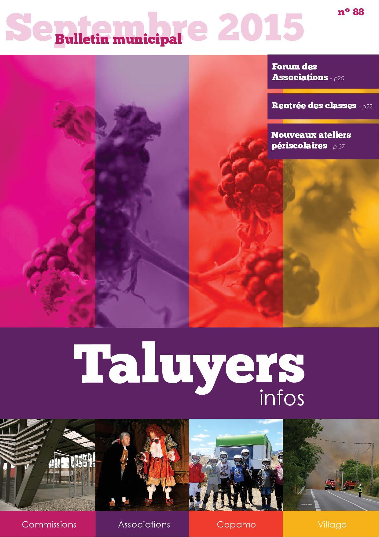 Taluyers Infos septembre 2015