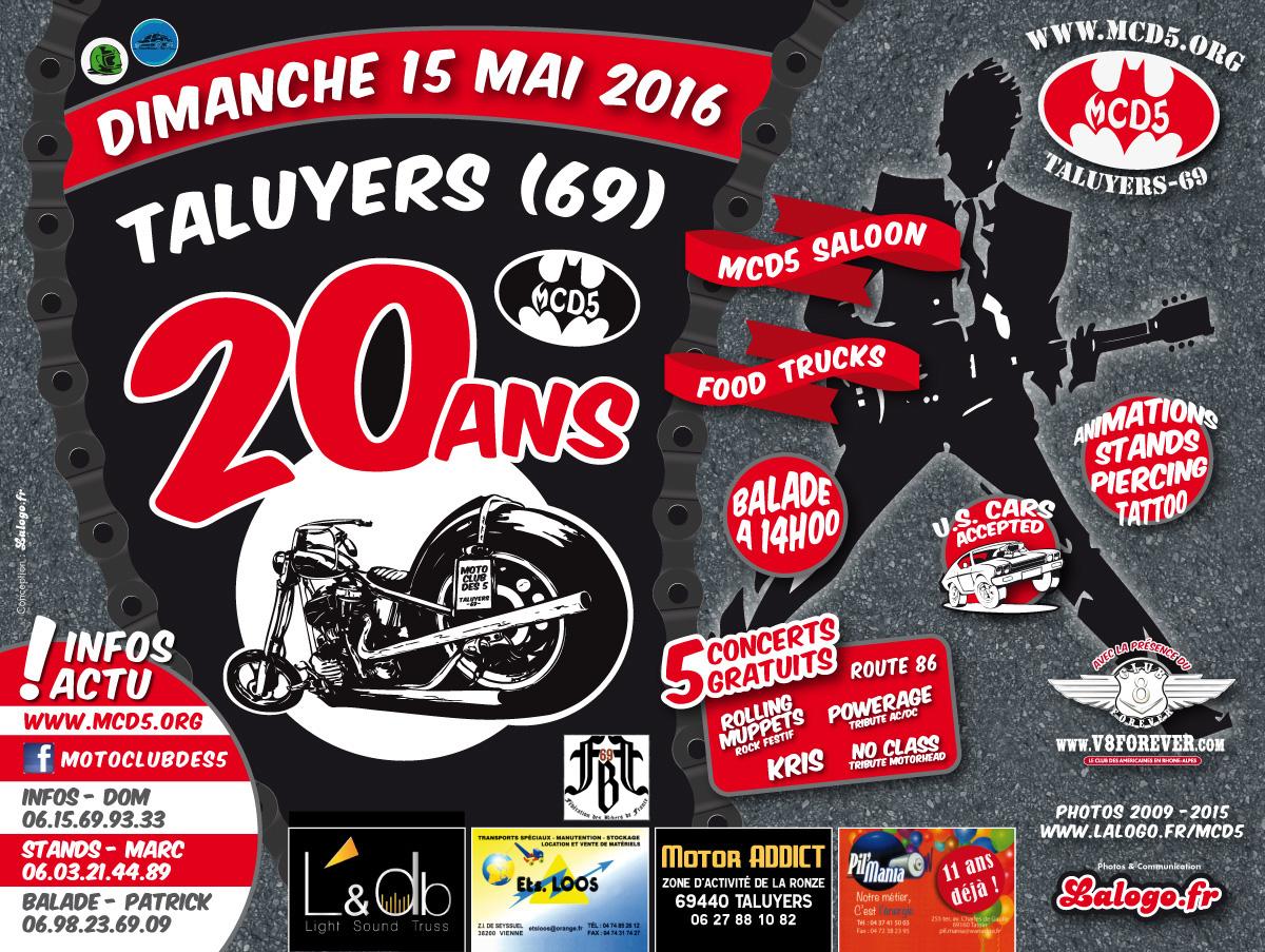 AFFICHE MCD5 MOTO 2016-OK