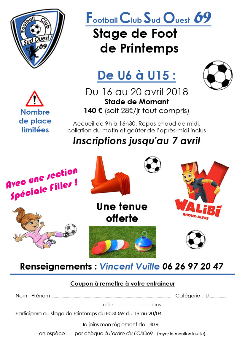 2018-04 Stage affiche FCSO69