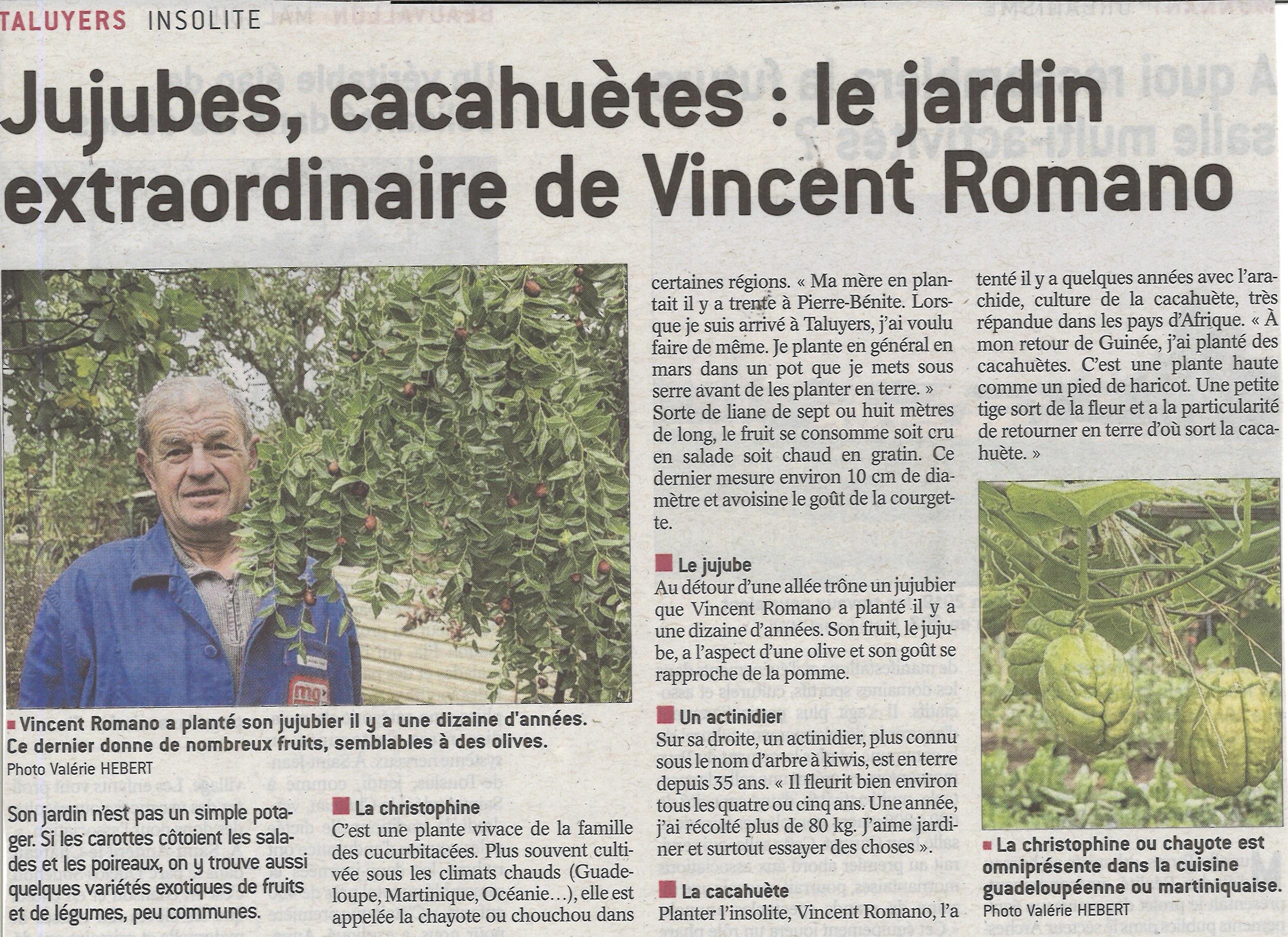 Le jardin extraordinaire de Vincent Romano
