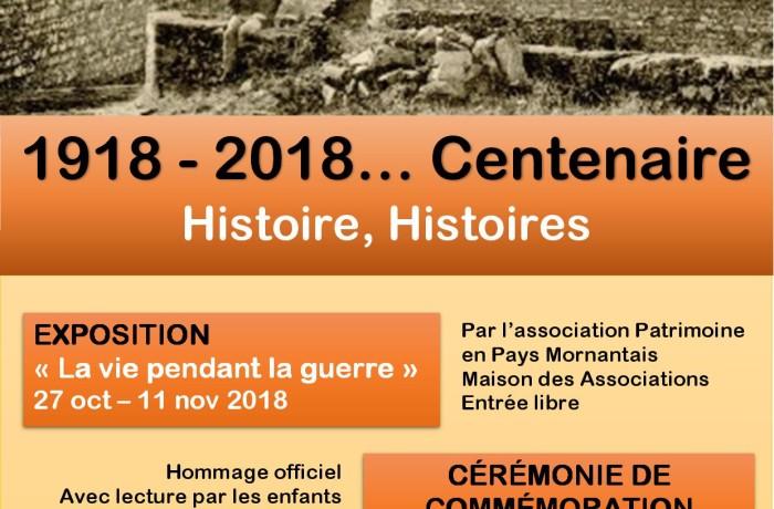 CENTENAIRE du 11 novembre 1918 … 2018