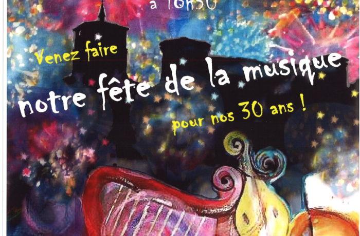 L'école de musique de Taluyers fête ses 30 ans !!