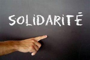 La solidarité s'organise…