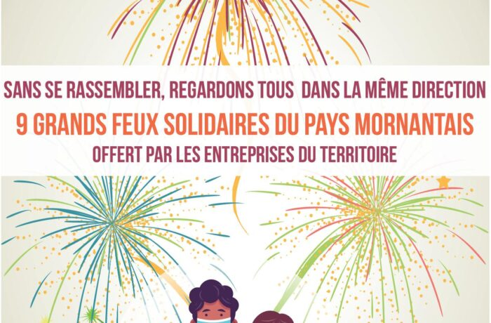 GRANDS FEUX D'ARTIFICES SOLIDAIRES du Pays Mornantais