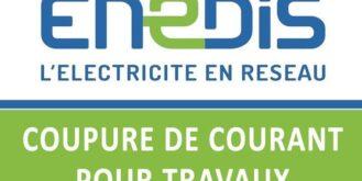 AVIS DE COUPURE ELECTRICITE
